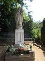 Statue of Mary. Listed ID 786. 1903 works. - 37, Máriavölgy Rd., Öreghegy, Székesfehérvár, Fejér county, Hungary.JPG