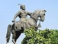 Statue of Shivaji on his horse.jpg