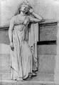Statue vom Zeppelin´schen Grabmal - Studie von Eduard von Kallee 12.10.1838.png