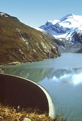 Wirtschaftswunder - Moserboden reservoir, Kaprun, 1968