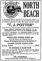 Steamers to North Beach advertisement 1911.png