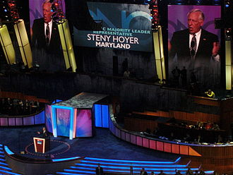 Steny Hoyer - Hoyer speaks during the second day of the 2008 Democratic National Convention in Denver, Colorado.