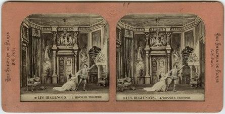 Stereokort, Les Huguenots 10, L'honneur triomphe - SMV - S58a.tif