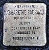 Stolperstein Dörpfeldstr 23 (Adler) Margarethe Baerwald.jpg