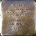 Stolperstein Köln, Rosa Goetzoff (Brabanter Straße 27).jpg