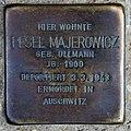 Stolperstein Metzer Str 26 (Prenz) Pesel Majerowicz.jpg