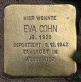Stolperstein Pariser Str 11 (Wilmd) Eva Cohn.jpg