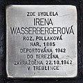 Stolperstein für Irena Wasserbergerova.JPG