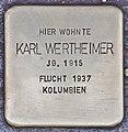 Stolperstein für Karl Wertheimer (Heidelberg).jpg