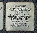 Stolperstein für Rosa Nussberg, Barbarossastraße 55, Chemnitz.JPG