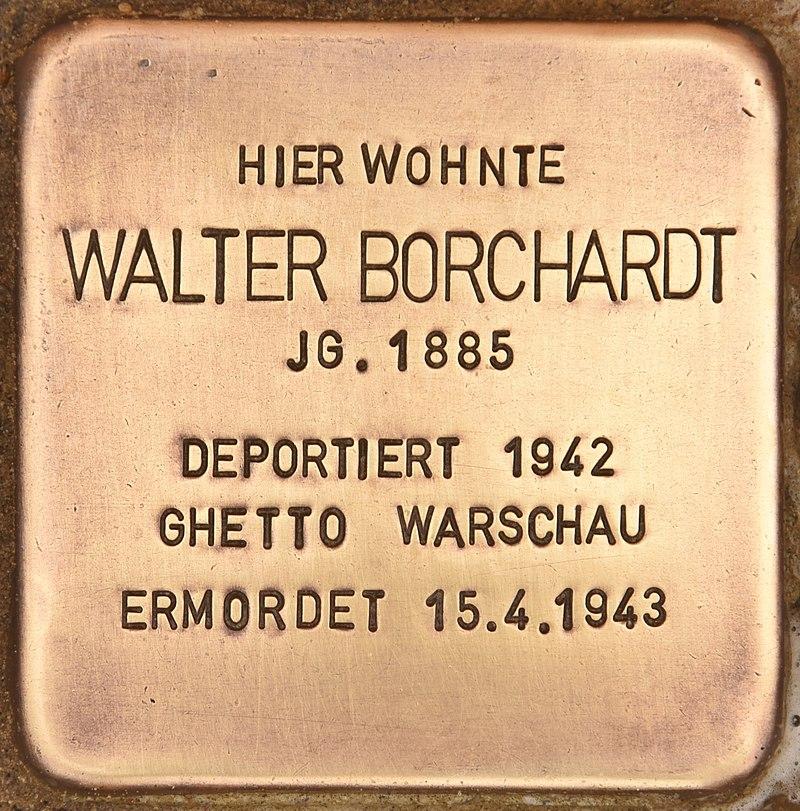 Stolperstein für Walter Borchardt (Kremmen).jpg