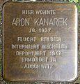 Stolpersteine Köln, Aron Kanarek (Kleiner Griechenmarkt 31).jpg
