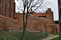 Stralsund, Katharinenkirche, Giebel, und Stadtmauer (2012-04-10) 1, by Klugschnacker in Wikipedia.jpg