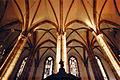 Strasbourg, Saint-Thomas, voûtes et piliers nefs latérales.jpg