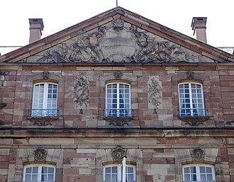 Hôtel de Klinglin - Image: Strasbourg hot Klinglin 46