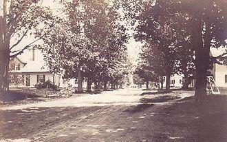 Lyme, New Hampshire - Street scene, c. 1910. Photo: Lyme Historians