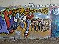 Street art sous le pont du TGV passant au-dessus de la Marsange, à Presles-en-Brie (5) - panoramio.jpg