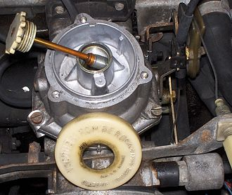 Zenith Carburettor Company (British) - non-UK German Pierburg (Stromberg) carburettor dashpot