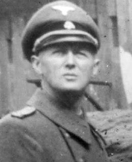Nazi Holocaust perpetrator