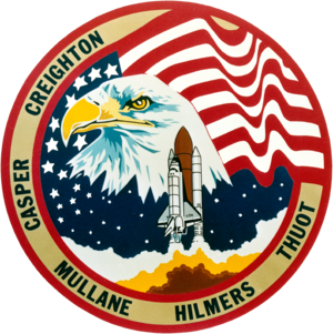 Mike Mullane - Image: Sts 36 patch