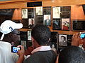 Students View Portraits of Little Rock Nine Then and Now - Little Rock - Arkansas - USA.jpg
