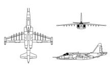 Двухмоторный одноместный штурмовик Су-25 создан в 1975 году в Советском Союзе в ОКБ Сухого.