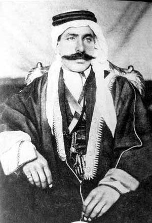Sultan al-Atrash - Portrait