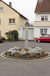 Sulzfeld im Grabfeld, Bildstock, Kirchplatz, 001.jpg