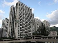 Sun Chui Estate (viewed from west).JPG