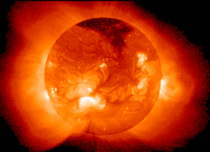 This image shows the Sun as viewed by the Soft...