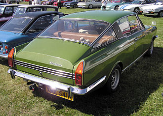 "Rootes Arrow - 1974 Sunbeam Rapier fastback coupé in ""Grasshopper"" green"