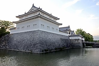 Shizuoka (city) - Reconstructed Tatsumi yagura of Sunpu Castle