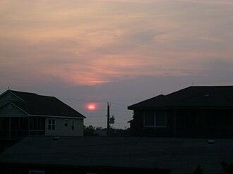 Frisco, North Carolina - Image: Sunset At Frisco, NC