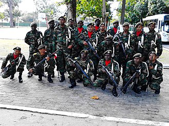 Suriname National Army - Suriname Soldiers in Brazil