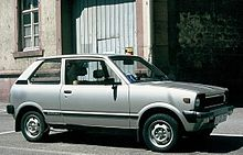 Suzuki Alto (SS80S), European Market, Note The Big Export Bumpers And The  12 Inch Wheels.