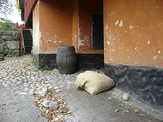 Barrel of land