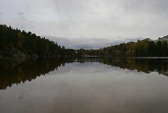 Övre Rudasjön - Image: Sweden. Stockholm County. Haninge Municipality. Handen 048
