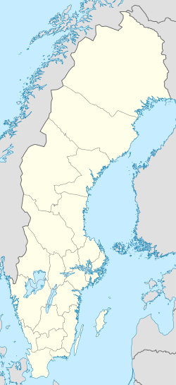 Umeå is located in Sweden