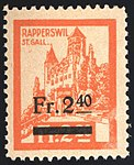 Switzerland Rapperswil 1920 revenue 3 2.40Fr - 47.jpg