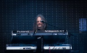 Michael Pinnella - Michael Pinnella with Symphony X live at Wacken Open Air 2016