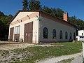 Szilvásvárad Forest Railway, Lumber yard depot, 2016 Hungary.jpg