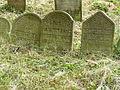 Třešť Jüdischer Friedhof - Grabsteine 1.jpg