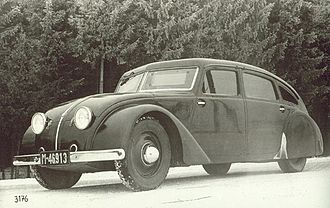 Tatra 77 - Tatra 77 early prototype, 1934