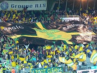 Banner - FC Nantes banner
