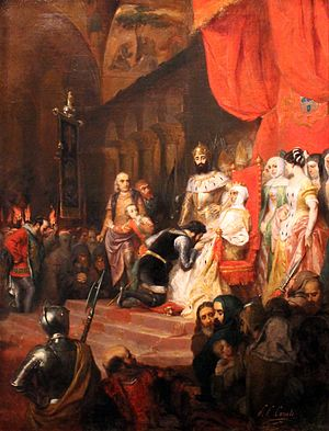 Peter I of Portugal - Image: Tableau Inés de Castro