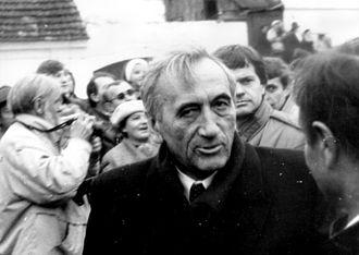 Tadeusz Mazowiecki - Mazowiecki in 1989