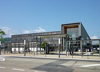 Takayama Station Railway station in Takayama, Gifu Prefecture, Japan