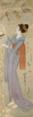 TakehisaYumeji-1931-Stones in Garden(Tanabata).png