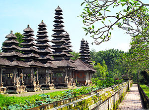 Badung Regency - Image: Taman Ayun, Bali, Indonesia