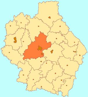Tambovsky District, Tambov Oblast - Image: Tambov oblast Tambov